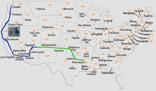 journey 2013 map