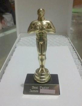 Best Pastor trophy